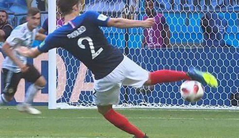 Pavard premiado como el mejor gol del Mundial Rusia 2018