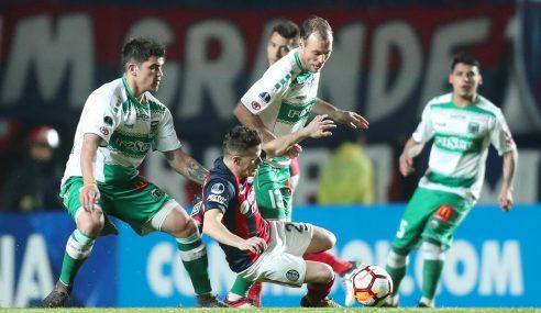 Copa Sudamericana : Mathias Riquero hizo historia con Temuco