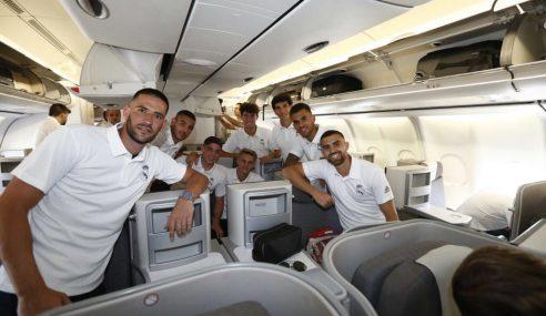 Federico Valverde viajó a la pretemporada con el Real Madrid
