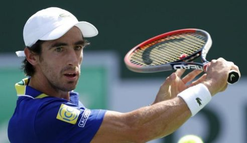 Pablo Cuevas se prepara para el ATP de hamburgo