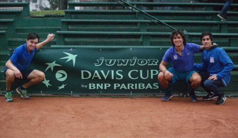 Tenis: Uruguay clasificó a la copa David Junior en Punta del Este