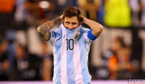 Messi deja la Selección argentina por tiempo indeterminado