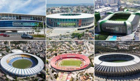 Se confirmaron los estadios de la Copa América Brasil 2019