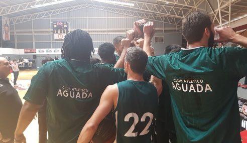 Aguada apronta su debut internacional