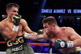 """Los sangrientos últimos segundos de la pelea entre Golovkin y """"Canelo"""" Álvarez"""