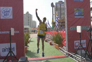 Alisson Rocha Peres se quedo con la maratón internacional de Punta del Este
