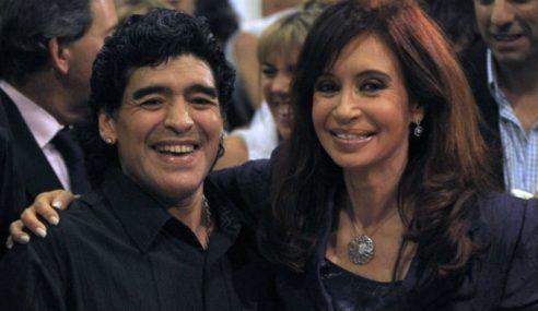 Maradona quiere ser candidato a vice de Cristina
