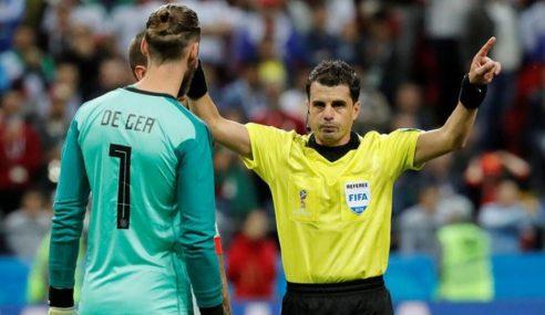 Cunha el arbitro de la final Boca – River