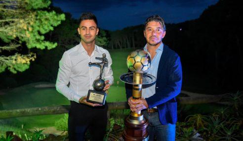 El Pity Martinez el mejor jugador, Gallardo el mejor DT