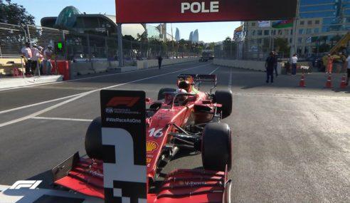 Otra Pole para Ferrari