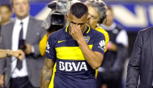 Carlitos Tevez hasta las lagrimas al anunciar que se va de Boca